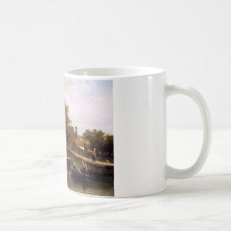 View on Enkhuizen by Cornelis Springer Coffee Mug