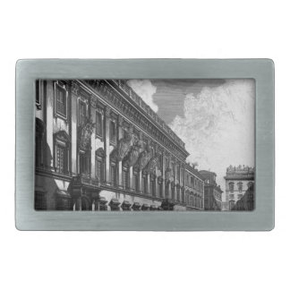 View on Mount Quirinal Palace of the most ... Rectangular Belt Buckle