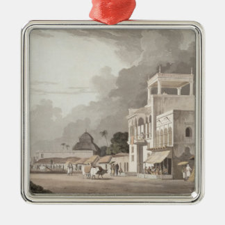 View on the Chitpore Road, Calcutta, plate II from Metal Ornament