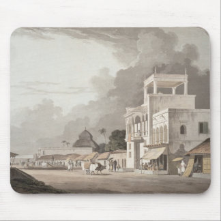 View on the Chitpore Road, Calcutta, plate II from Mouse Pad