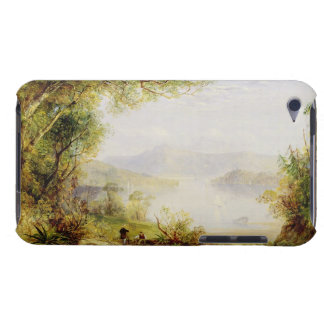 View on the Hudson River, c.1840-45 (oil on panel) iPod Case-Mate Cases
