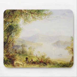 View on the Hudson River, c.1840-45 (oil on panel) Mouse Pad
