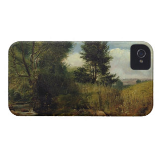 View on the River Sid, near Sidmouth, c.1852 (oil Case-Mate iPhone 4 Case