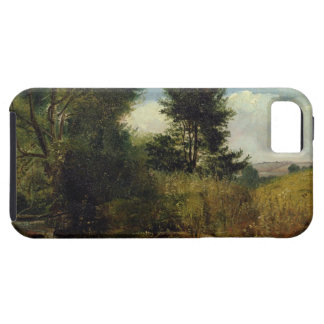 View on the River Sid, near Sidmouth, c.1852 (oil iPhone SE/5/5s Case