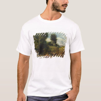 View on the River Sid, near Sidmouth, c.1852 (oil T-Shirt