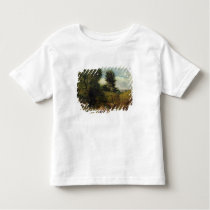 View on the River Sid, near Sidmouth, c.1852 (oil Toddler T-shirt