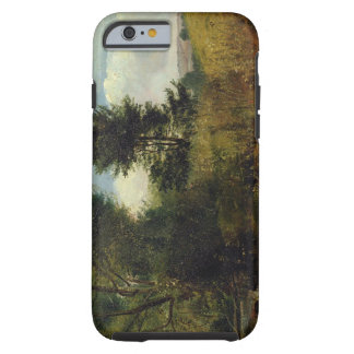 View on the River Sid, near Sidmouth, c.1852 (oil Tough iPhone 6 Case
