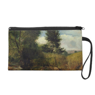 View on the River Sid, near Sidmouth, c.1852 (oil Wristlet Purse