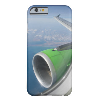 View on the seacoast through the airplane window barely there iPhone 6 case