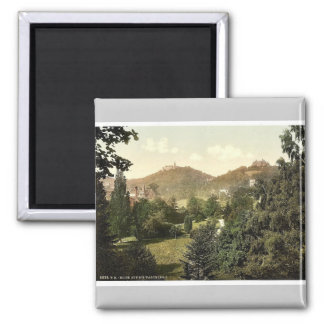 View on the Wartburg, I., Wartburg, Thuringia, Ger Refrigerator Magnets