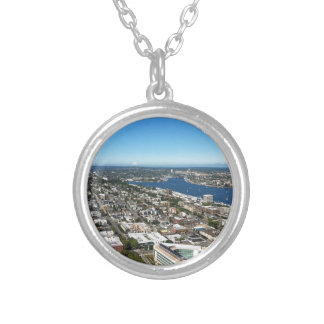 view on top of space centre custom jewelry