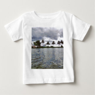 View over a lake baby T-Shirt