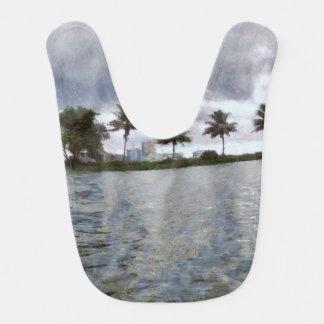 View over a lake bib