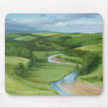 """""""View over Coquetdale"""" Northumberland Mouse Pad"""