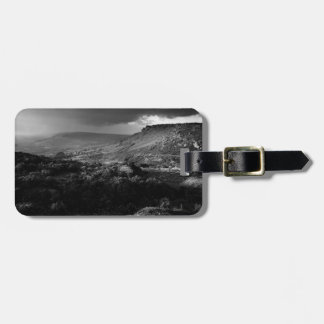 view over Curbar Edge in Derbyshire Luggage Tag