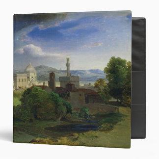 View over Florence, c.1829 Vinyl Binder