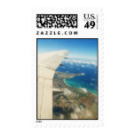 View over Hawaiian Island of Oahu Postage Stamps