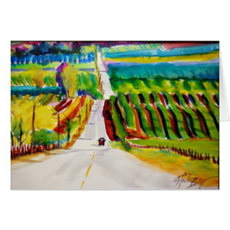 """""""View Over Lewis Hill"""" Card"""