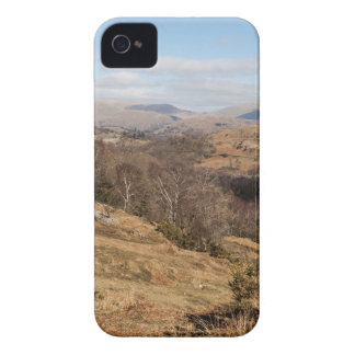 view over little langdale, lake district, cumbria Case-Mate iPhone 4 case