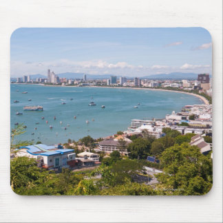 View over Pattaya bay. Mouse Pad