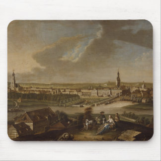 View over Potsdam from Brauhausberg, 1772 Mouse Pad