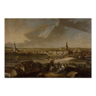 View over Potsdam from Brauhausberg, 1772 Poster