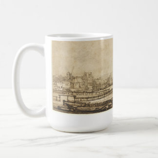 View over the Amstel from the Rampart (Rembrandt) Coffee Mug