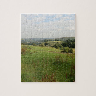 View Over the Derbyshire Dales Jigsaw Puzzle