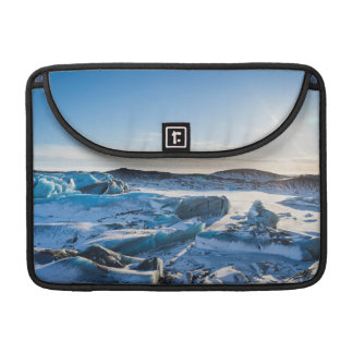 View over the frozen glacial lake sleeves for MacBook pro