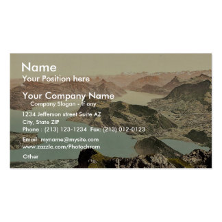 View over the Lake of Four Cantons, Pilatus, Switz Double-Sided Standard Business Cards (Pack Of 100)