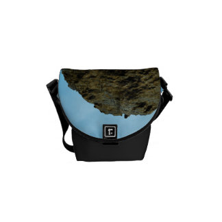 View over the ocean  with ship messenger bag
