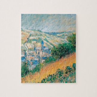 View over Vetheuil by Claude Monet Puzzle