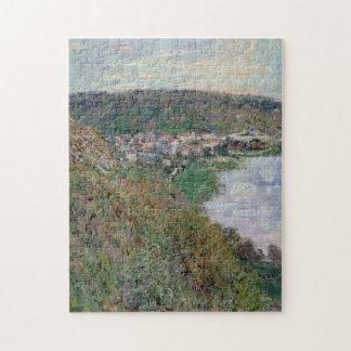 View over Vetheuil Monet Fine Art Puzzle