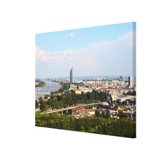 View Over Vienna Canvas Print
