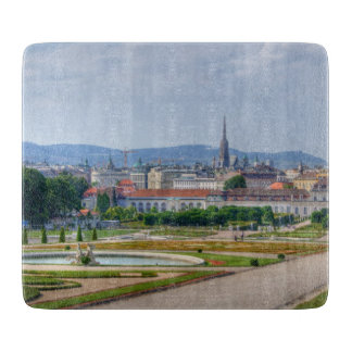 View Over Vienna Cutting Board