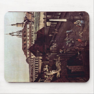 View The Fortifications Of Dresden In Dresden Moat Mouse Pad