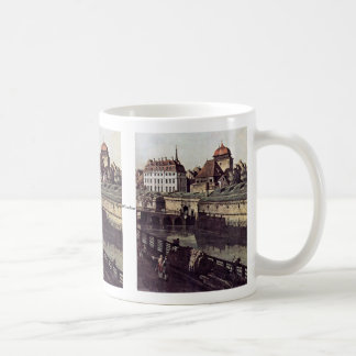 View The Fortifications Of Dresden In Dresden Moat Classic White Coffee Mug