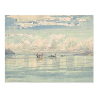 View the Lac Leman François Bocion Postcard