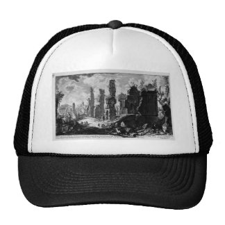 View the remains of `Mausoleums and tombs scattere Trucker Hat
