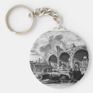 View the remains of Nero`s Golden House Tablino Keychain