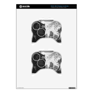 View the remains of the circumference of the oldes xbox 360 controller skin