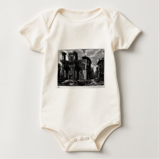 View the remains of the Forum of Nerva by Giovanni Baby Bodysuit