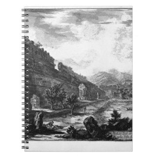 View the remains of the Praetorian Castro at Villa Spiral Notebook