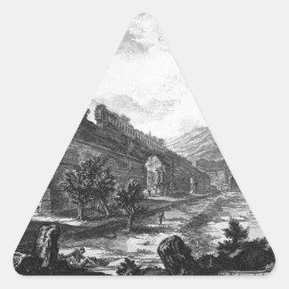 View the remains of the Praetorian Castro at Villa Triangle Sticker