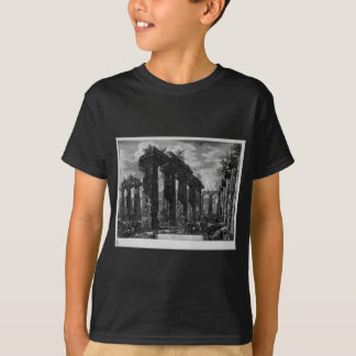 View the remains of the pronaos by Giovanni T-Shirt