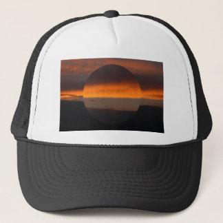 view the sky trucker hat