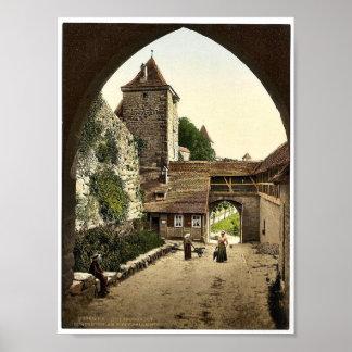 View through door of Kobolzeller (i.e. Kobolzeller Posters