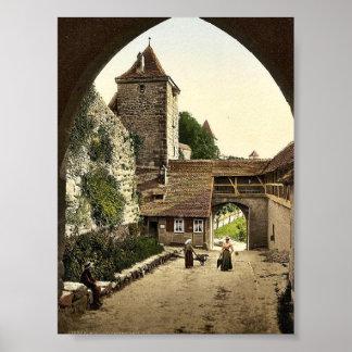 View through door of Kobolzeller (i.e. Kobolzeller Poster
