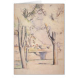 View Thru the Trees by Cezanne, Impressionism Art Greeting Cards