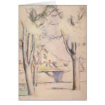 View Thru the Trees by Cezanne, Impressionism Art Cards